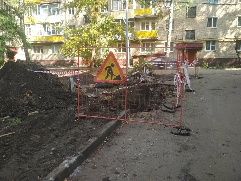 «Квадра» обещает выполнить работы по благоустройству в Тамбове до конца октября, фото-3