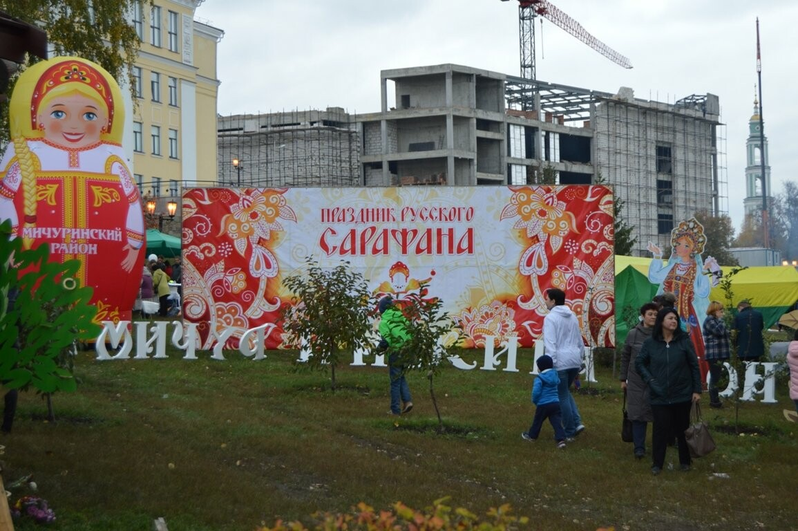 Второй день Покровской ярмарки в Тамбове: гастрономический фестиваль, праздник сарафана и танцы на лошадях, фото-21