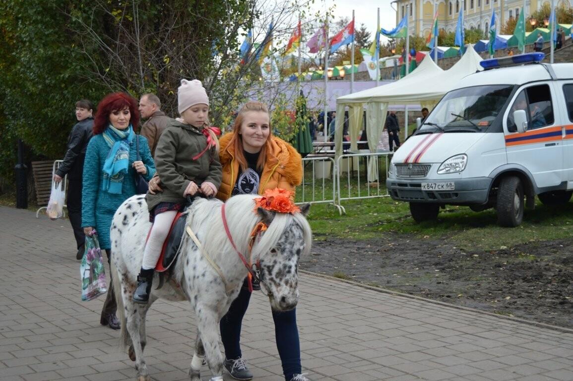 Второй день Покровской ярмарки в Тамбове: гастрономический фестиваль, праздник сарафана и танцы на лошадях, фото-11