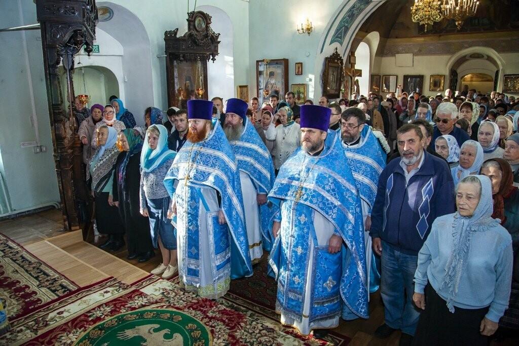 Православные тамбовчане отпраздновали день Покрова Божией Матери, фото-5