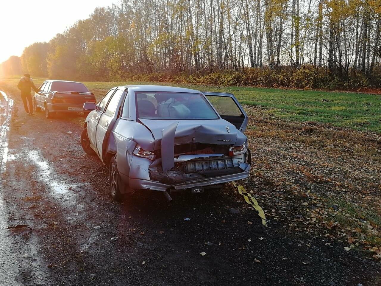 В массовом ДТП под Тамбовом сгорели два автомобиля, один человек погиб и еще четверо пострадали: видео, фото-5