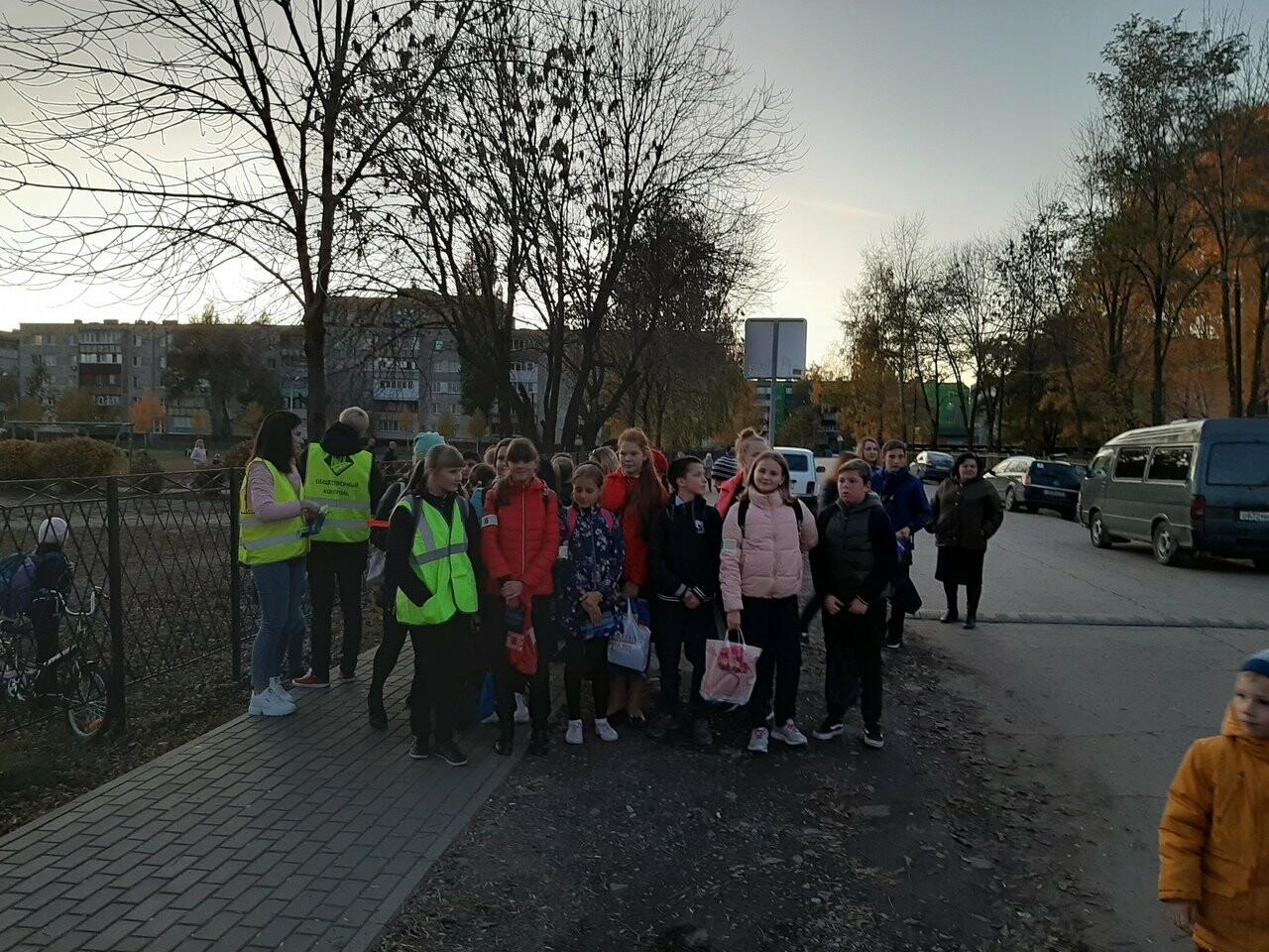 Ученики Цнинской школы стали заметнее на дороге, фото-3