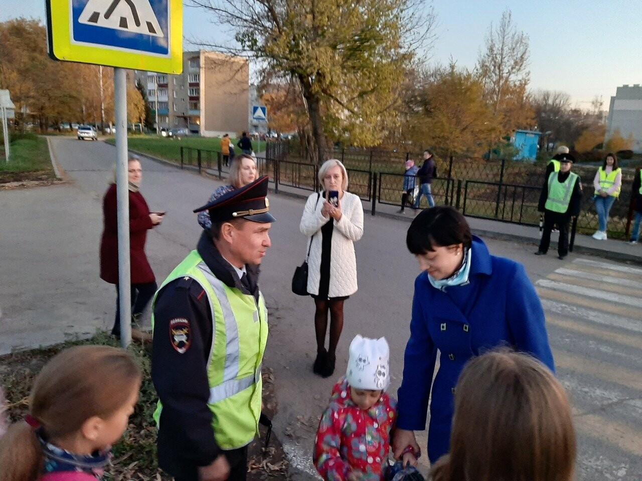 Ученики Цнинской школы стали заметнее на дороге, фото-2