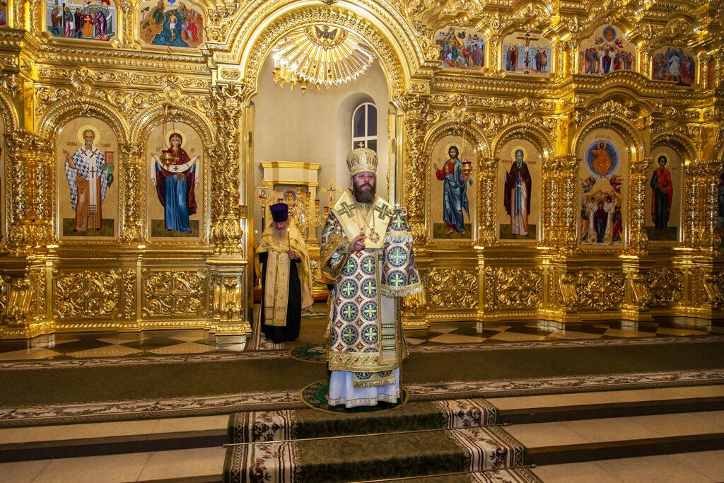 Православные тамбовчане встретили чудотворный образ иконы Божией Матери «Всех скорбящих Радость», фото-6