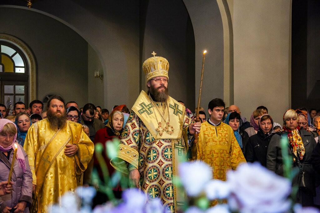 Православные тамбовчане встретили чудотворный образ иконы Божией Матери «Всех скорбящих Радость», фото-8