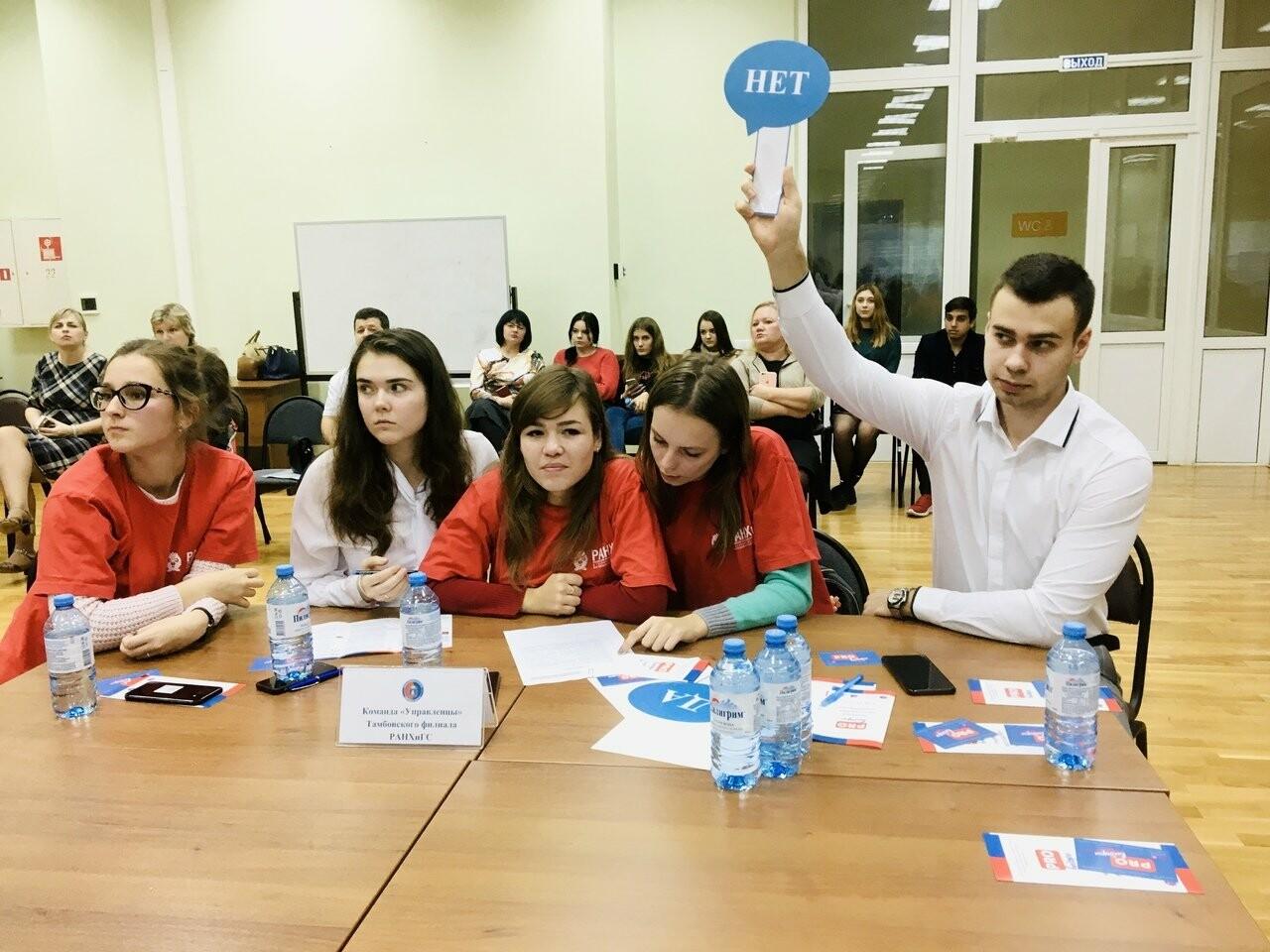 Команды Тамбовского филиала РАНХиГС прошли в финал конкурса «Задай выборам свой бит!», фото-2