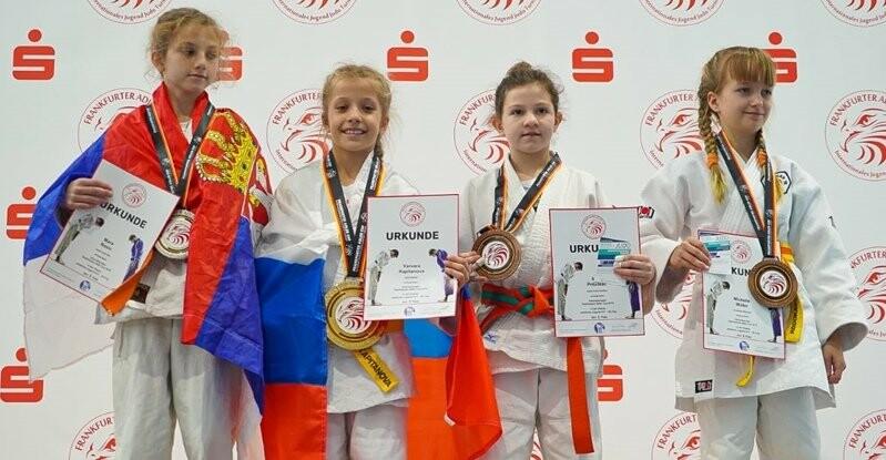 Юная мичуринская дзюдоистка привезла два «золота» турнира в Германии , фото-3