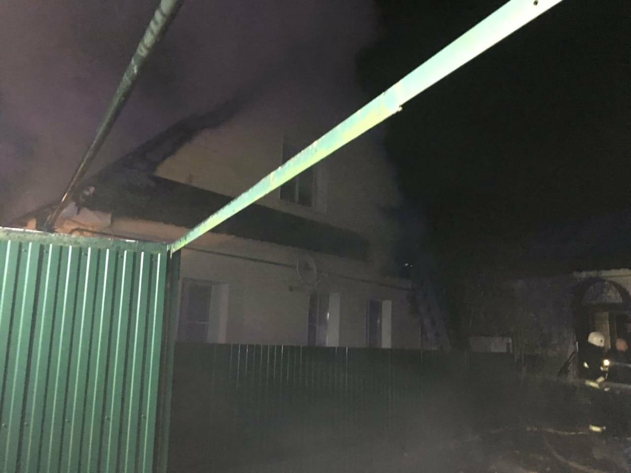 В Тамбове загорелись два частных дома, фото-1