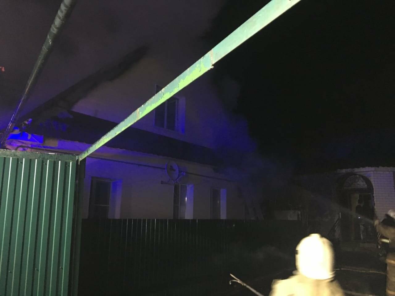 В Тамбове загорелись два частных дома, фото-2