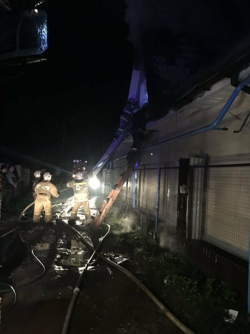 В Тамбове загорелись два частных дома, фото-4