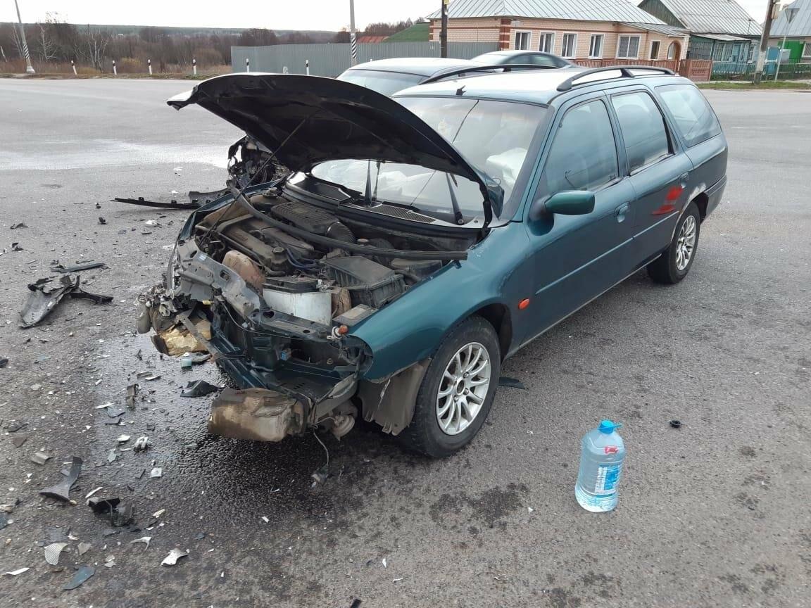 На трассе «Тамбов-Шацк» при столкновении «Форда» и «Лады Калины» пострадала девушка, фото-2