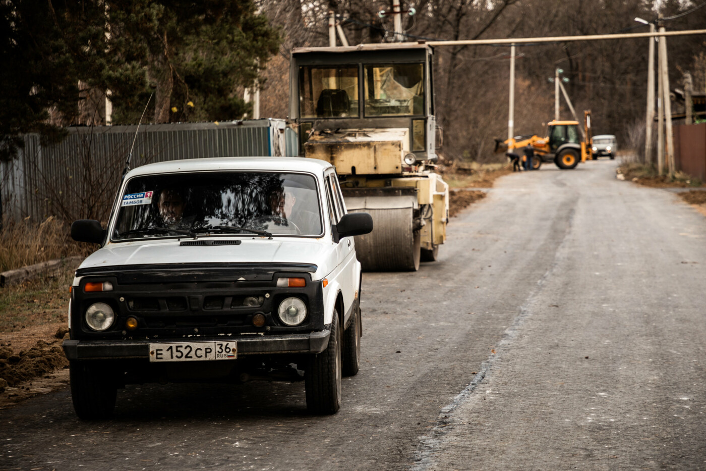 В пригороде Тамбова построили новую дорогу за 3,4 млн рублей, фото-4