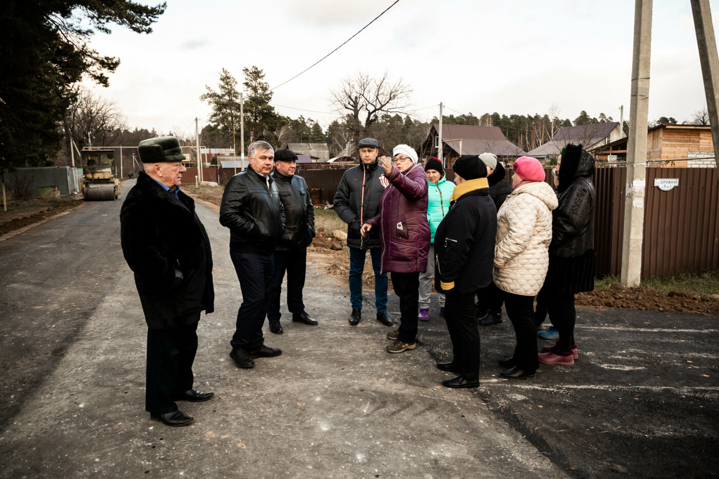 В пригороде Тамбова построили новую дорогу за 3,4 млн рублей, фото-6