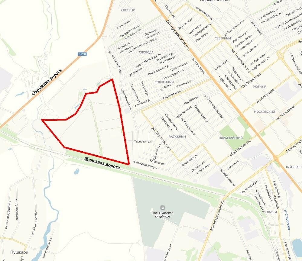 Тамбовчане сами выберут название новому парку в северной части города, фото-1