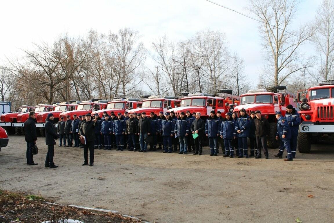 15 новых боевых автомобилей готовы заступить на дежурство тамбовских пожарных, фото-1