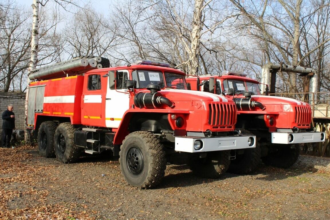 15 новых боевых автомобилей готовы заступить на дежурство тамбовских пожарных, фото-3