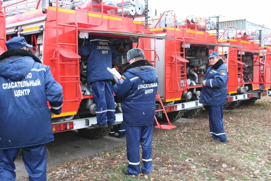 15 новых боевых автомобилей готовы заступить на дежурство тамбовских пожарных, фото-6