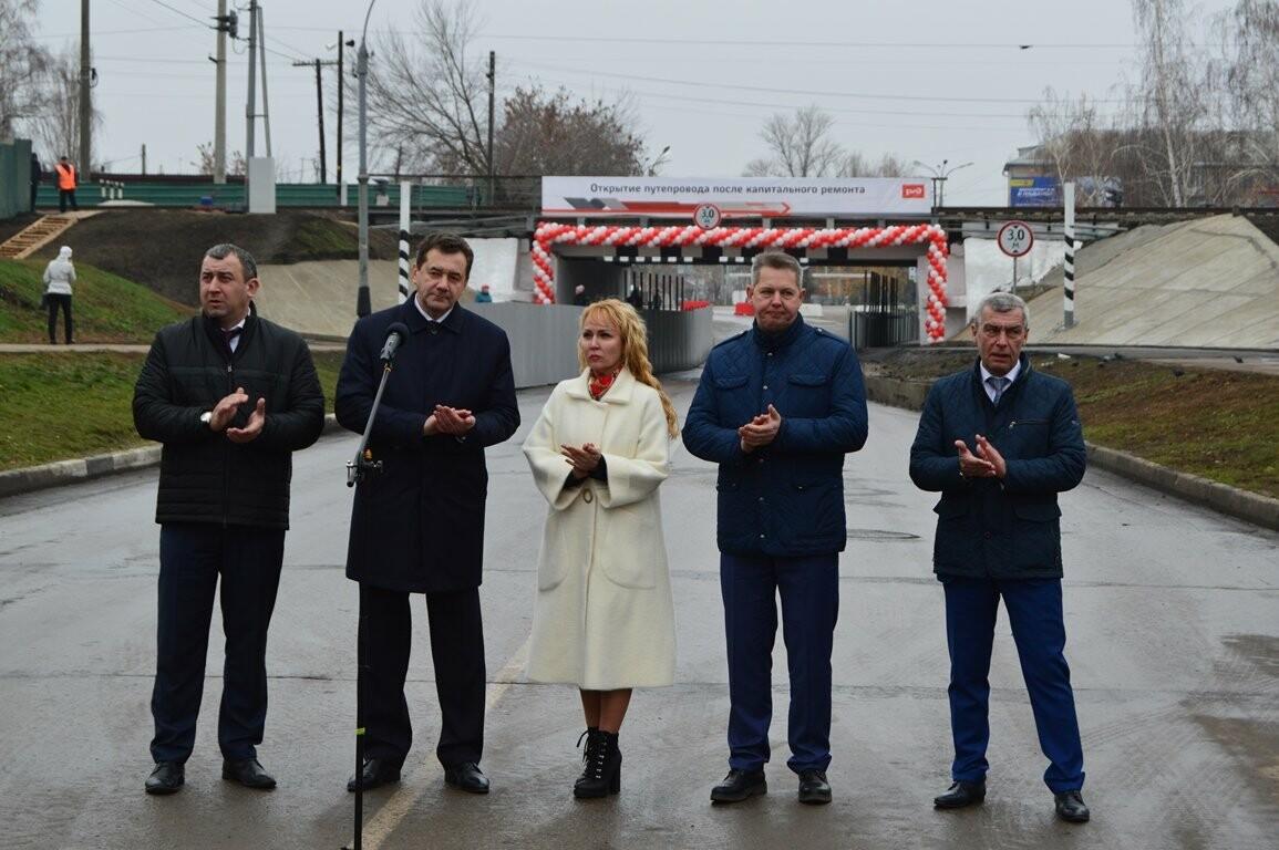 Проезд разрешен! На железнодорожной станции Тамбов после капитального ремонта открыли путепровод, фото-1