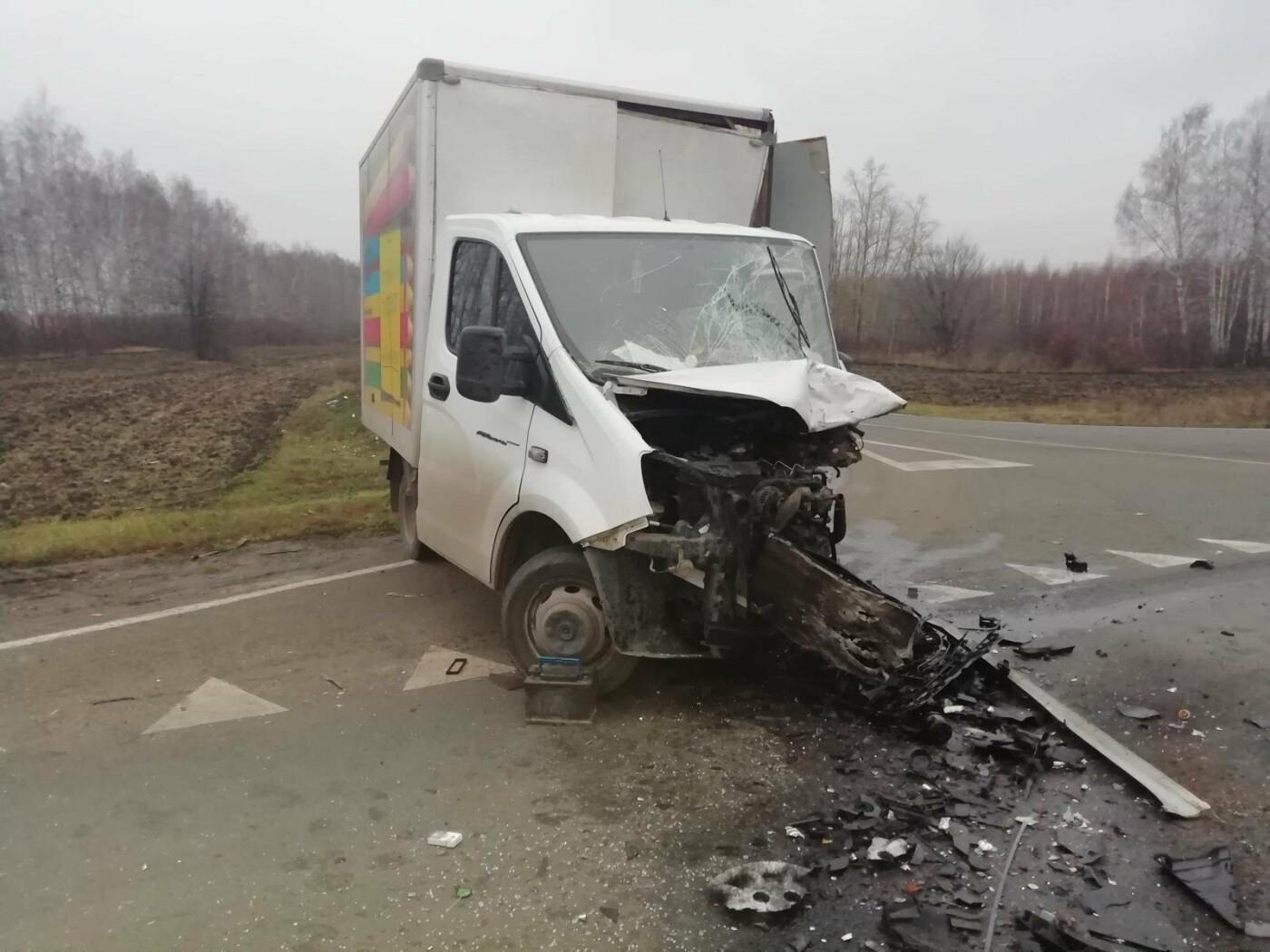 В Тамбовском районе при лобовом столкновении «Нивы» и «ГАЗели» погиб мужчина, фото-2