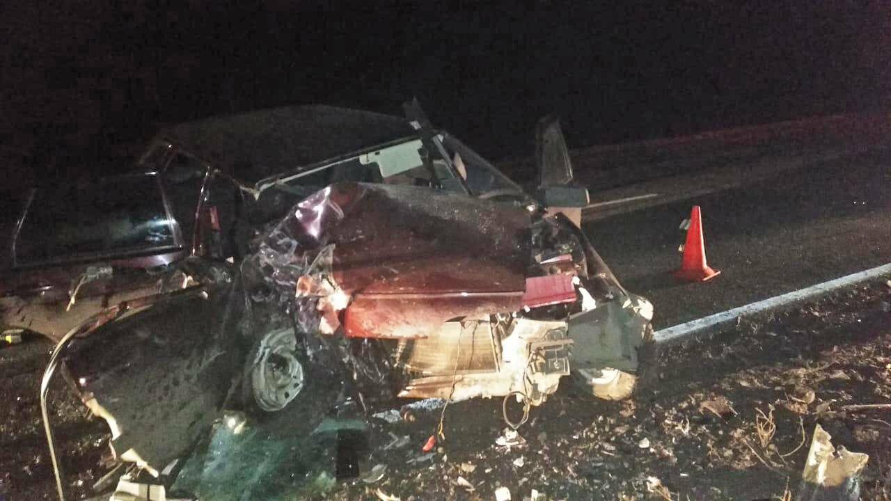 На трассе «Тамбов-Пенза» иномарка протаранила ВАЗ-2114: один человек погиб и один госпитализирован, фото-1