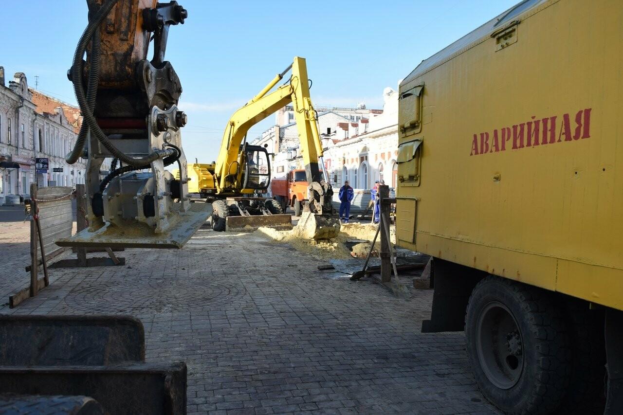 В Тамбове на Коммунальной завершили ремонтные работы на обвалившемся коллекторе, фото-1