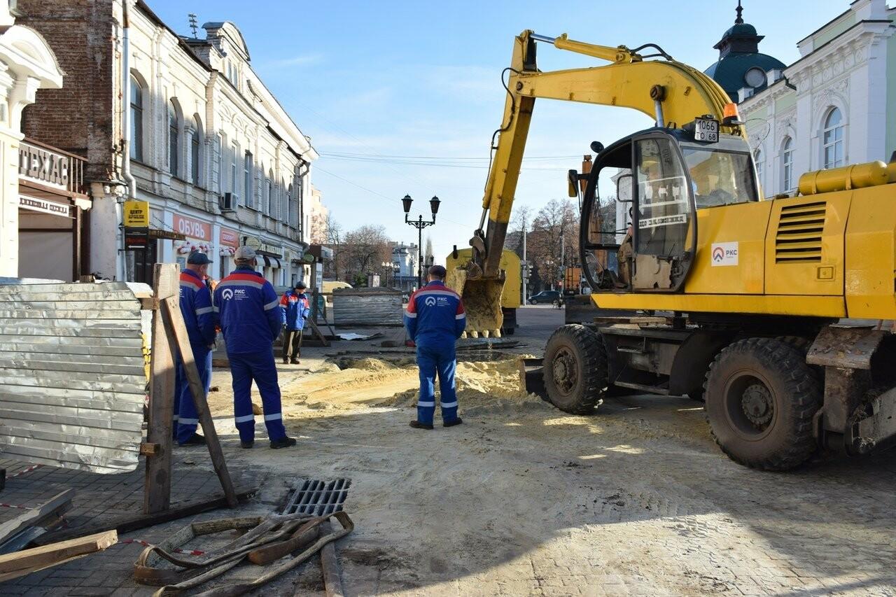 В Тамбове на Коммунальной завершили ремонтные работы на обвалившемся коллекторе, фото-2