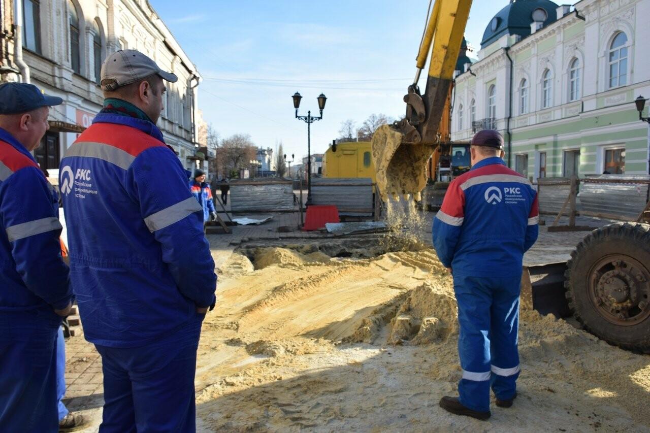 В Тамбове на Коммунальной завершили ремонтные работы на обвалившемся коллекторе, фото-3