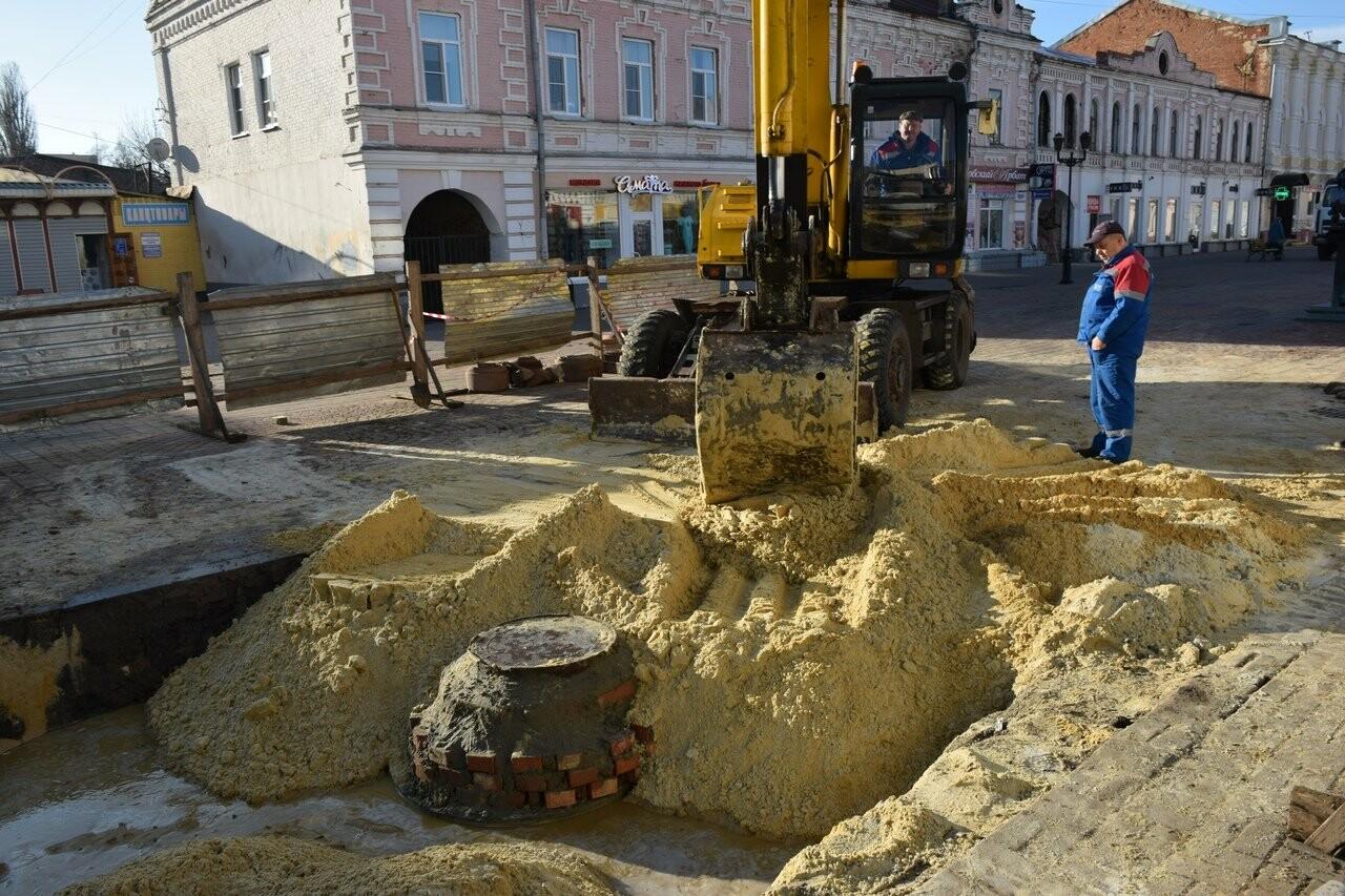 В Тамбове на Коммунальной завершили ремонтные работы на обвалившемся коллекторе, фото-5