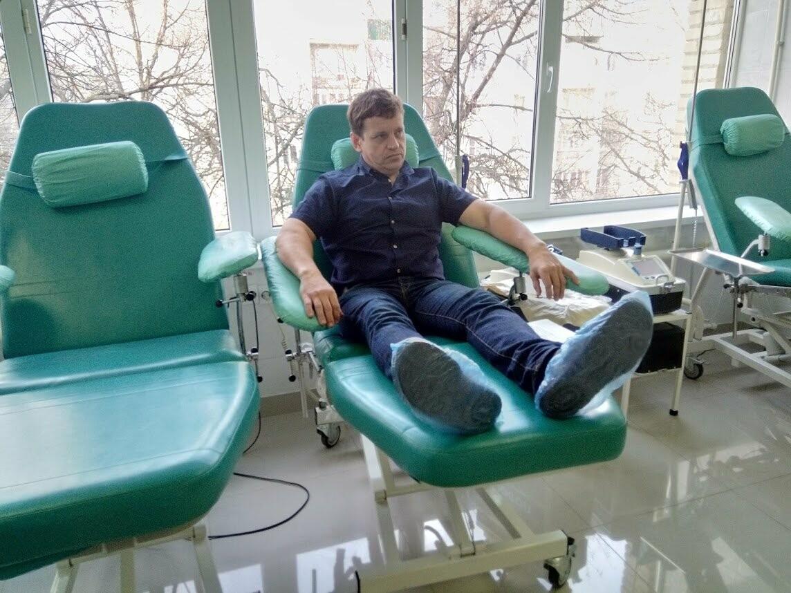 Чиновники Тамбовской областной администрации сдали 20 литров крови , фото-4