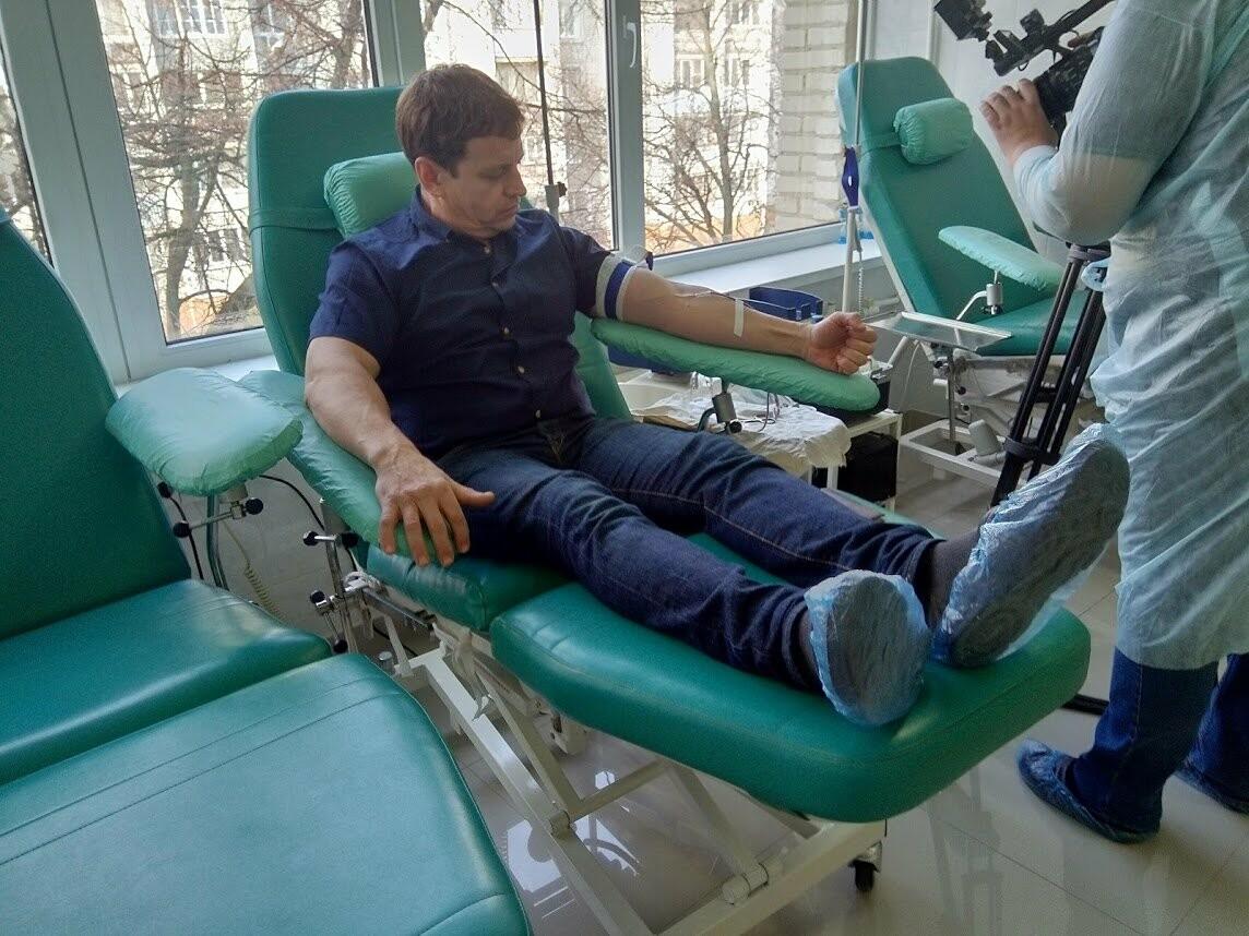 Чиновники Тамбовской областной администрации сдали 20 литров крови , фото-5