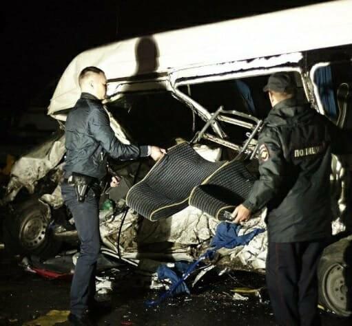 Страшное ДТП в Тамбовской области: опрокинулась маршрутка – 10 человек пострадали, фото-4