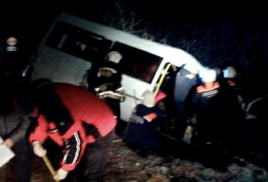 Страшное ДТП в Тамбовской области: опрокинулась маршрутка – 10 человек пострадали, фото-3
