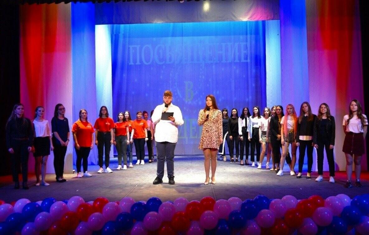 В Тамбовском филиале РАНХиГС состоялось посвящение первокурсников в студенты, фото-5