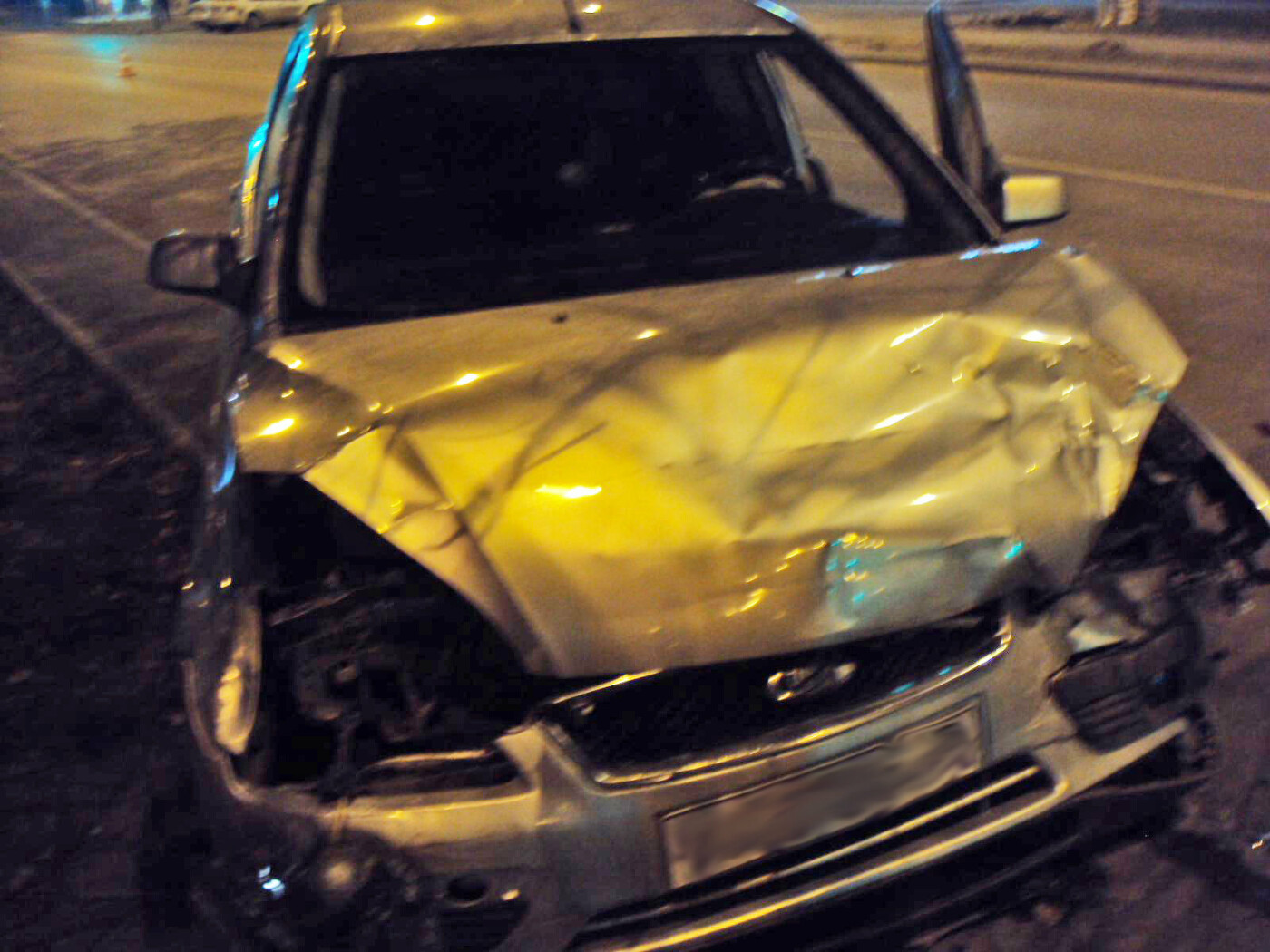 В Тамбове при столкновении двух иномарок пострадали два человека, фото-1