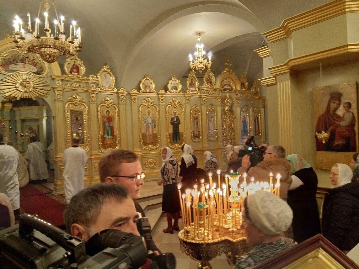 В Тамбов привезли частицу пояса Пресвятой Богородицы, фото-6