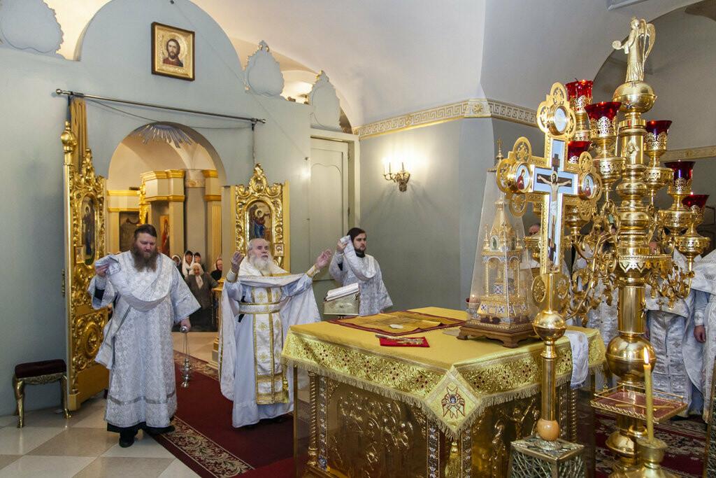 В Тамбов привезли частицу пояса Пресвятой Богородицы, фото-5