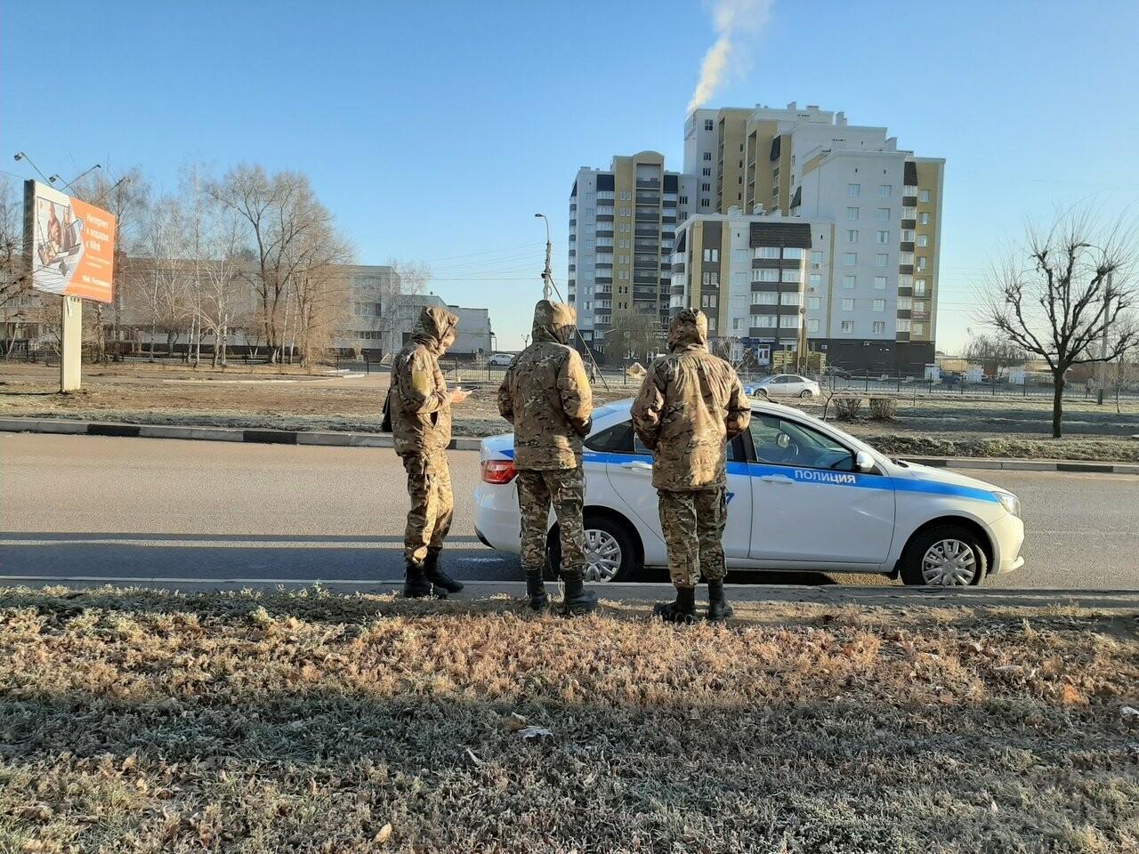 Пешеходные переходы под надзором ГИБДД. В Тамбове провели тематический рейд, фото-1