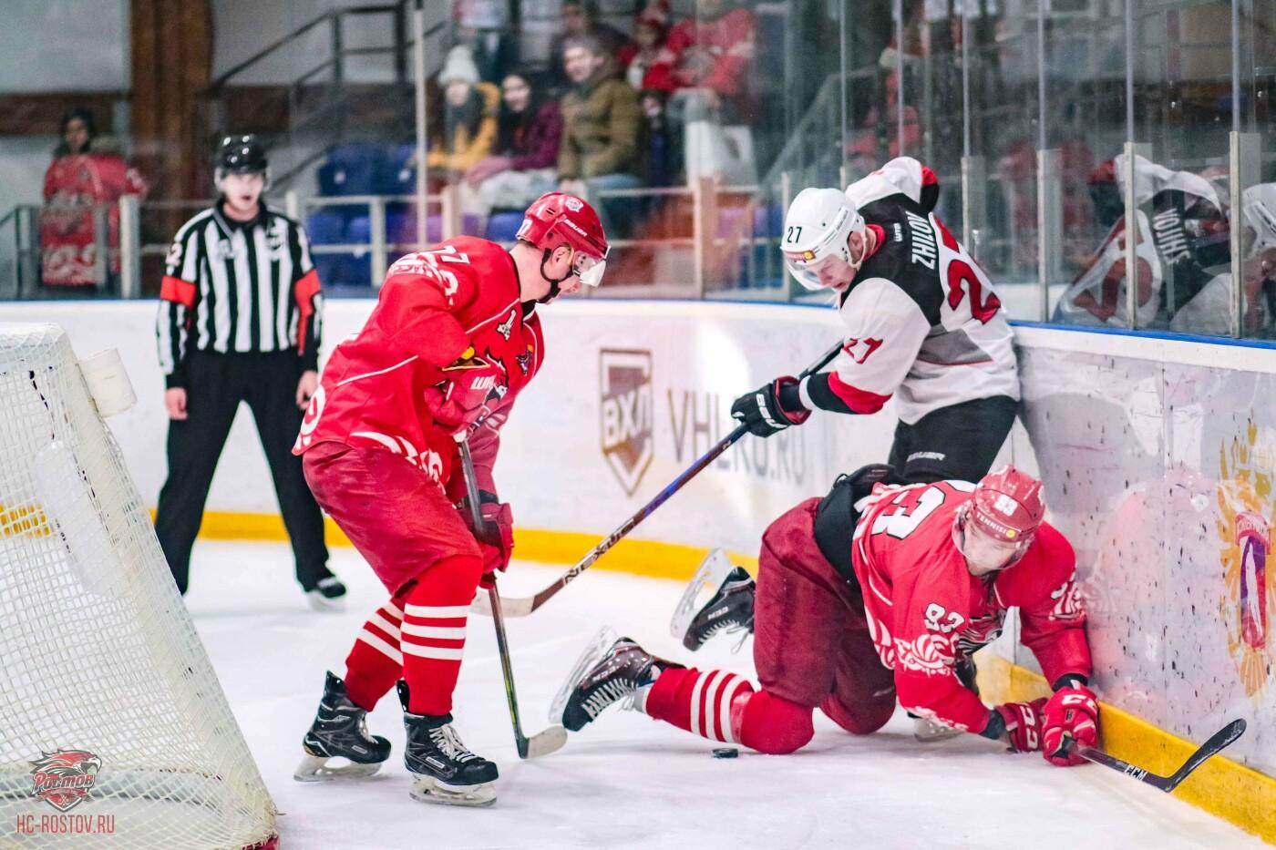 ХК «Тамбов»: выездную серию начали с сухой победы в Ростове, фото-4
