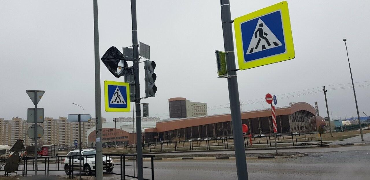 На севере Тамбова установили светофоры вместо разворотного кольца, фото-1