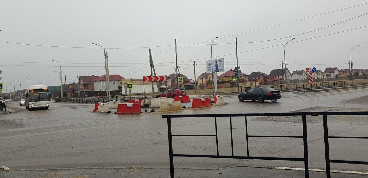 На севере Тамбова установили светофоры вместо разворотного кольца, фото-3