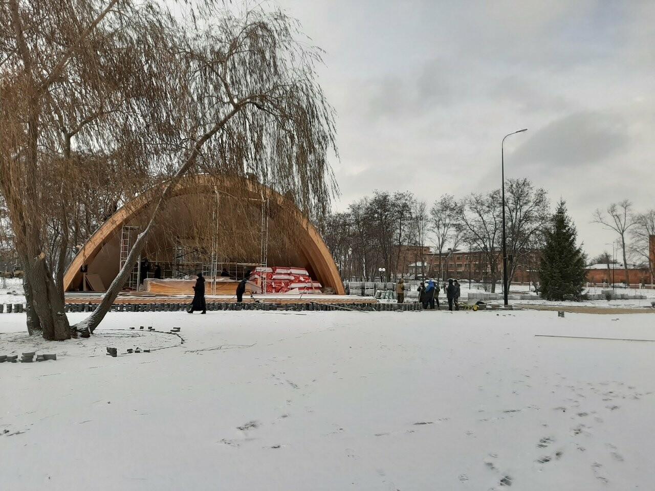 В Котовске заканчивают первый этап реконструкции парка, фото-5