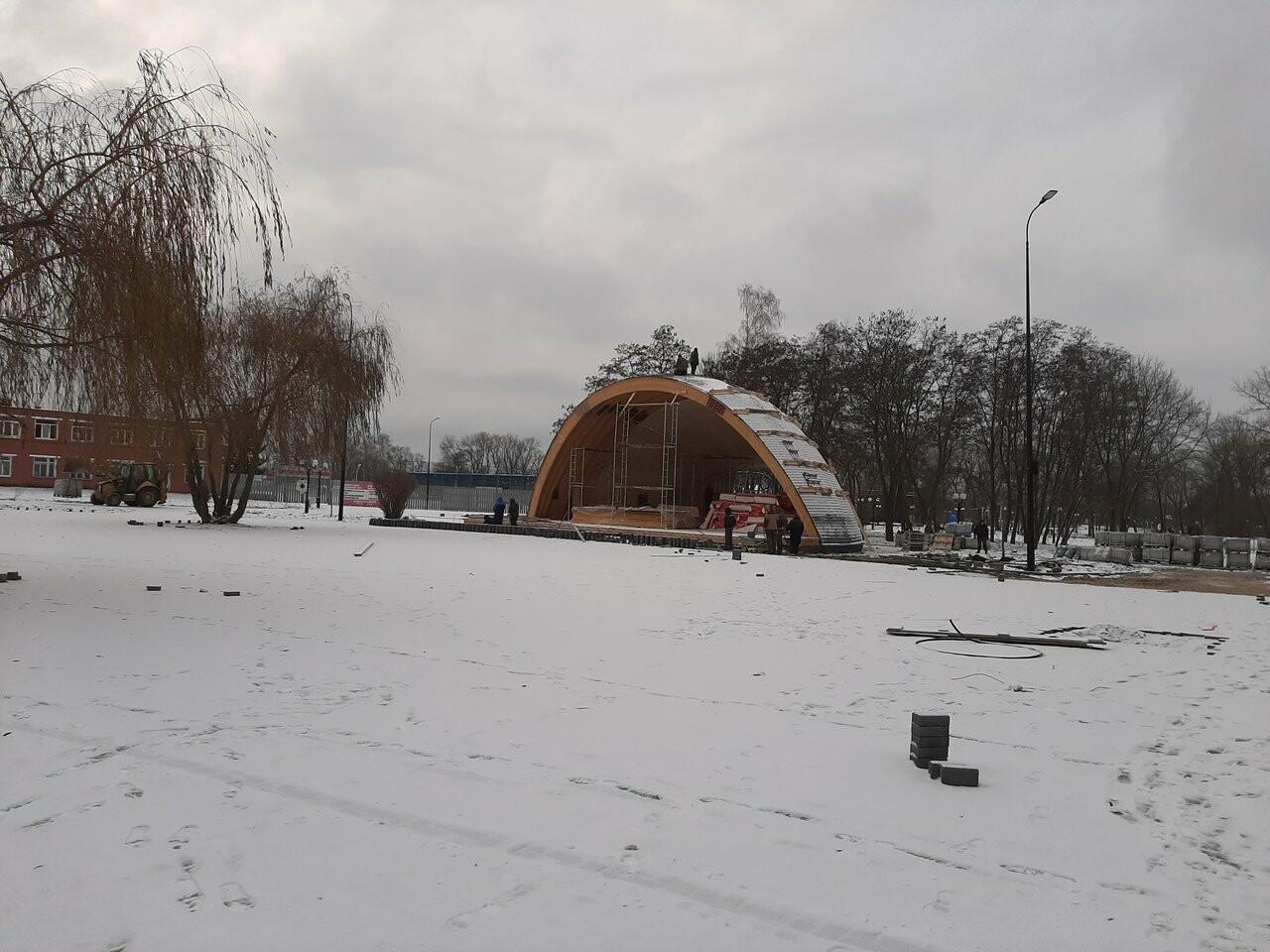 В Котовске заканчивают первый этап реконструкции парка, фото-1