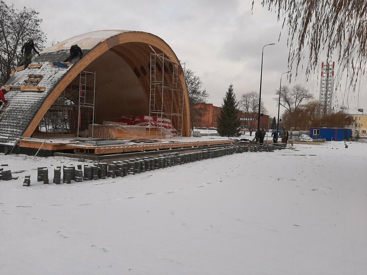 В Котовске заканчивают первый этап реконструкции парка, фото-3