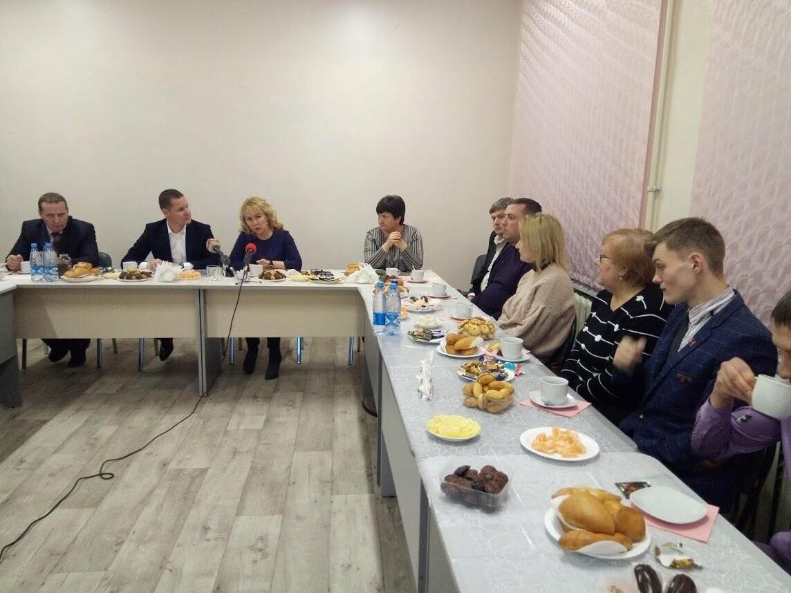От дорог до спортплощадок: глава Тамбова встретилась с жителями префектуры «Магистральная», фото-8