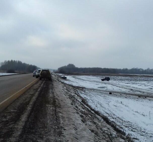 На федеральной дороге Воронеж-Тамбов в Тамбовской области за сутки произошло второе ДТП со смертельным исходом, фото-4
