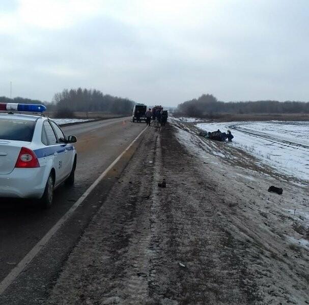 На федеральной дороге Воронеж-Тамбов в Тамбовской области за сутки произошло второе ДТП со смертельным исходом, фото-5