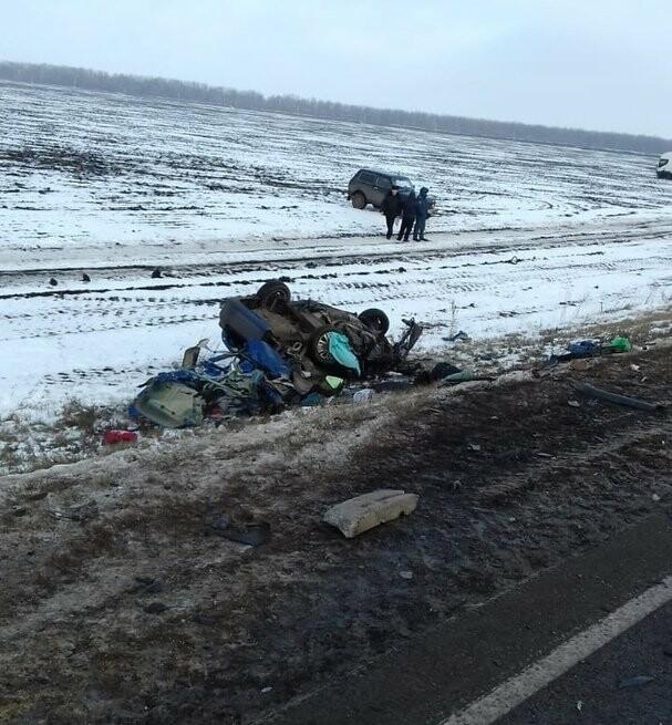 На федеральной дороге Воронеж-Тамбов в Тамбовской области за сутки произошло второе ДТП со смертельным исходом, фото-6