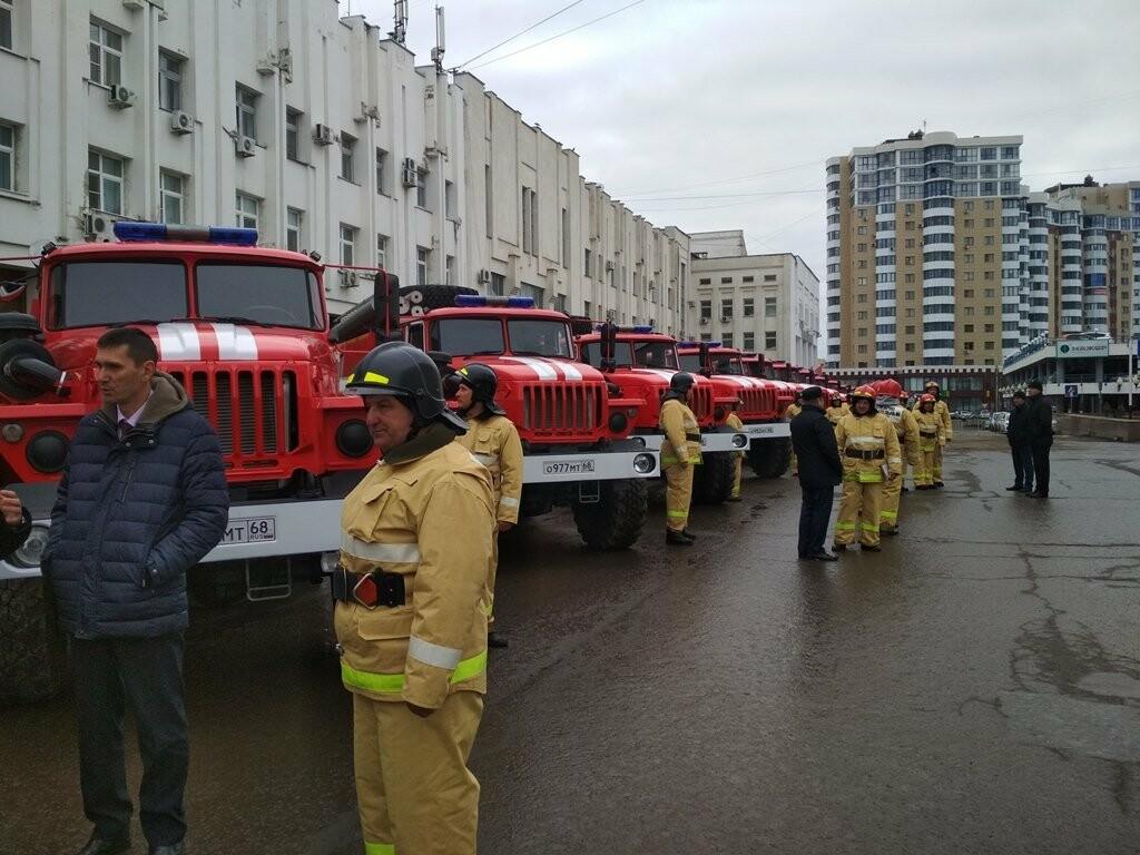 15 новых пожарных машин заступили на боевое дежурство в Тамбовской области, фото-2