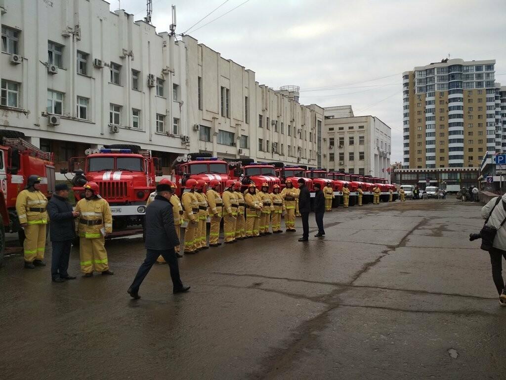 15 новых пожарных машин заступили на боевое дежурство в Тамбовской области, фото-4