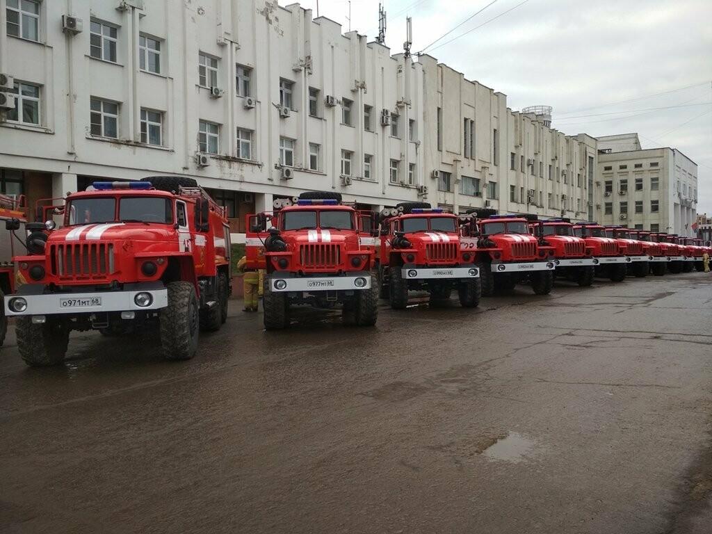 15 новых пожарных машин заступили на боевое дежурство в Тамбовской области, фото-6